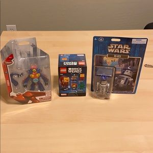 BNWT DISNEY MARVEL BIG HERO 6 STAR WARS TOYS NEW